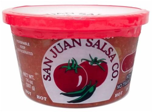 San Juan Hot Salsa Perspective: front