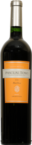 Pascual Toso Malbec Perspective: front