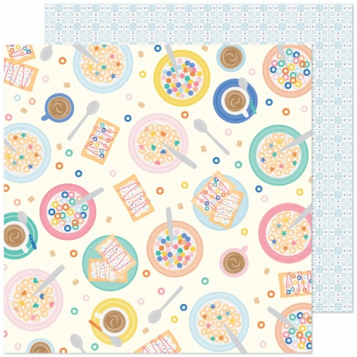 """Obed Marshall Buenos Dias Double-Sided Cardstock 12""""X12""""-En La Mesa Perspective: front"""