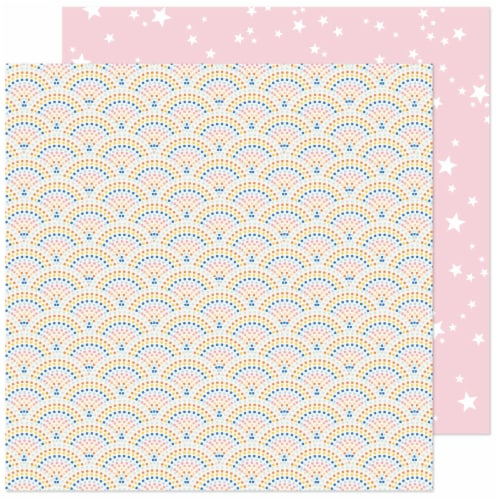 """Obed Marshall Buenos Dias Double-Sided Cardstock 12""""X12""""-Mosaico Feliz Perspective: front"""