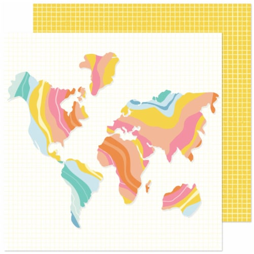 """Obed Marshall Buenos Dias Double-Sided Cardstock 12""""X12""""-Vamonos Perspective: front"""