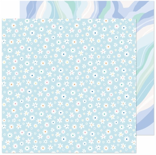 """Obed Marshall Buenos Dias Double-Sided Cardstock 12""""X12""""-Petalos Perspective: front"""