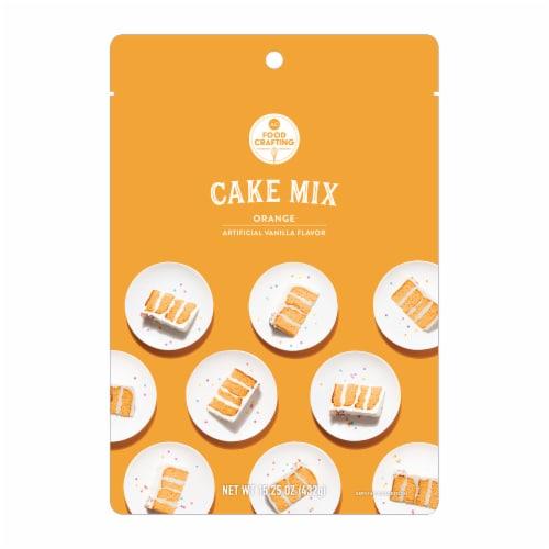 AC Food Crafting Vanilla Flavor Orange Cake Mix Perspective: front