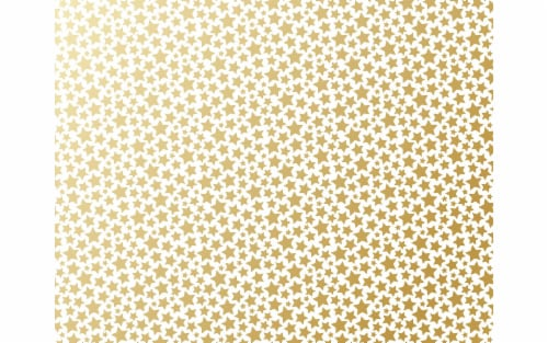 AMC Poster Shop Poster Board 22x28 Foil Gold Stars Perspective: front