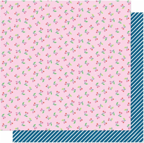 """Dear Lizzy Here & Now Double-Sided Cardstock 12""""X12""""-Carefree Perspective: front"""