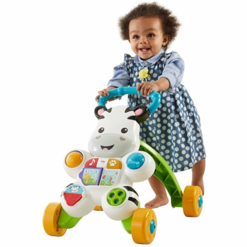 Fisher Price Learn with Me Zebra Walker Perspective: front