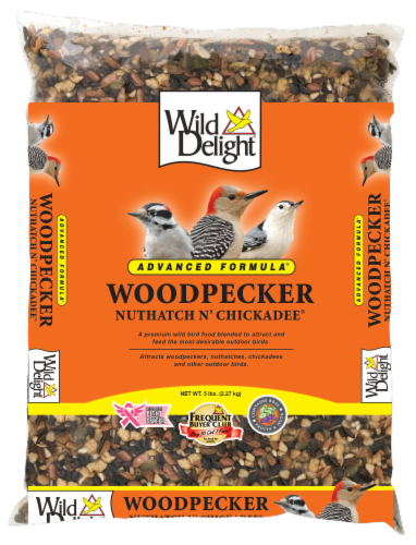 Wild Delight Woodpecker Nuthatch n' Chickadee Bird Seed Perspective: front