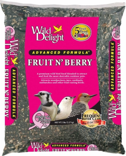 Wild Delight Fruit N' Berry Bird Seed Perspective: front
