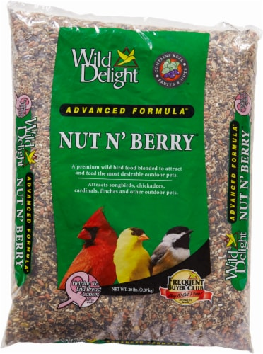 Wild Delight Nut N' Berry Advanced Formula Bird Food Perspective: front