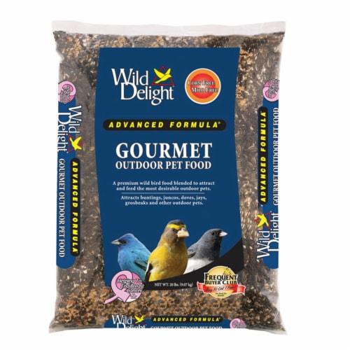 Wild Delight Gourmet Wild Bird Food Assorted Species Wild Bird Food Sunflower Seeds 20 lb. Perspective: front