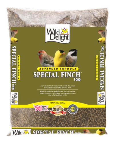 Wild Delight Special Finch Bird Food Perspective: front