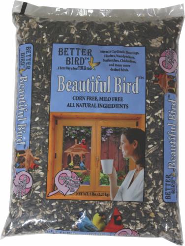 Better Bird™ Beautiful Bird Food Perspective: front