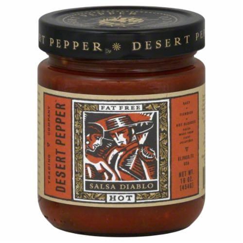 Desert Pepper Hot Salsa Diablo Perspective: front