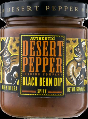 Desert Pepper Black Bean Dip Perspective: front