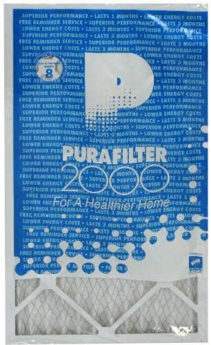 PuraFilter 2000 Blue Series Air Filter Perspective: front