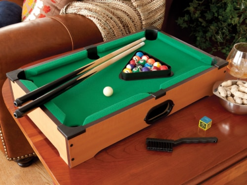 Mainstreet Classics Table Top Billiards Perspective: front