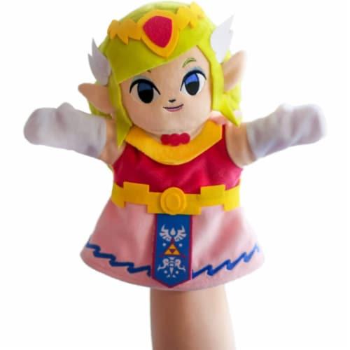 Zelda Princess Zelda 10 Inch Plush Puppet Perspective: front