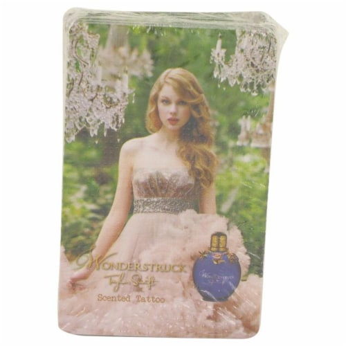 Wonderstruck by Taylor Swift 50 Pack Scented Tatoos 50 pcs Perspective: front