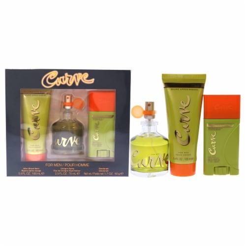 Curve Men's Fragrance Gift Set Perspective: front