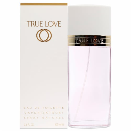 True Love by Elizabeth Arden for Women - 3.3 oz EDT Spray Perspective: front