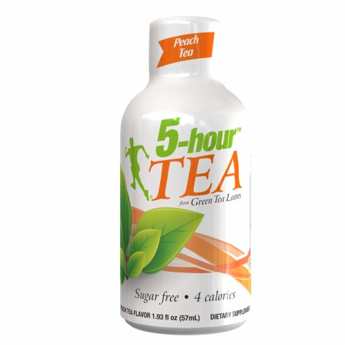 5-Hour Tea Peach Tea Dietary Supplements Perspective: front