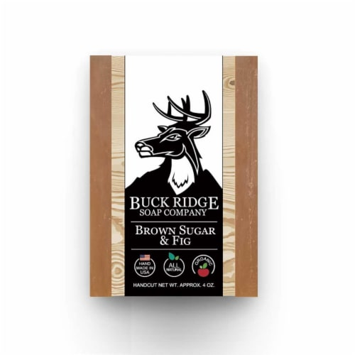 Buck Ridge Soap BRSUGFIG Brown Sugar & Fig Handmade Soap Perspective: front