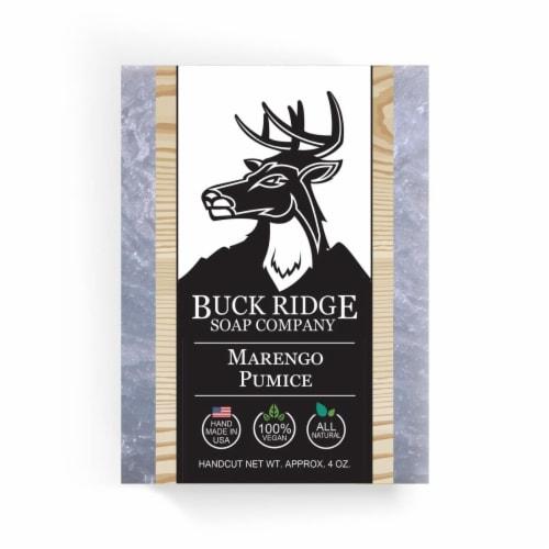 Buck Ridge Soap MARPUM Marengo Pumice Handmade Soap Perspective: front