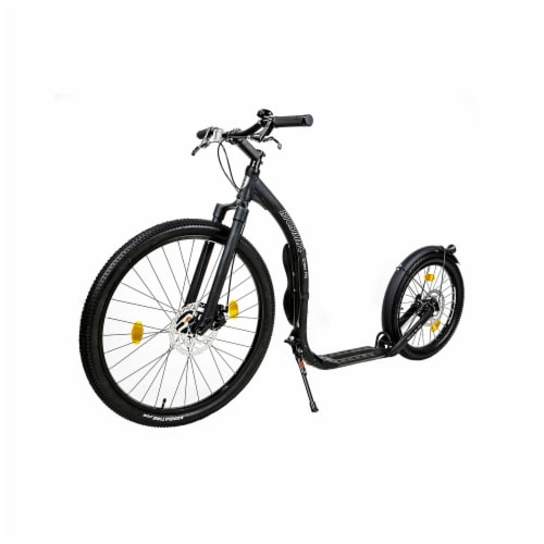 Kickbike America CF0002 Cross Fix Scooter, Arctic White Perspective: front