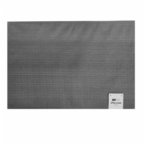 Arlee Home Fashions Table Trends Sisal Placemat - Grey Perspective: front