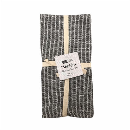 Arlee Home Fashions Table Trends Napkins - Sarah Stripe Perspective: front