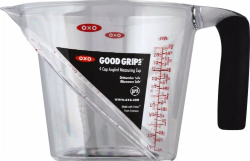 OXO Good Grips Angled Measuring Cup - Clear Perspective: front