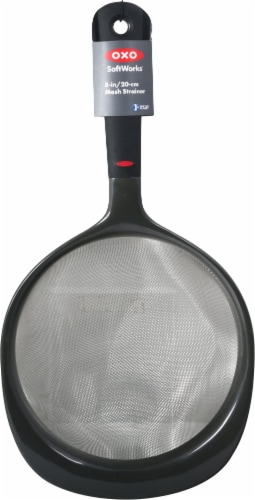 OXO Soft Works Strainer - Black Perspective: front