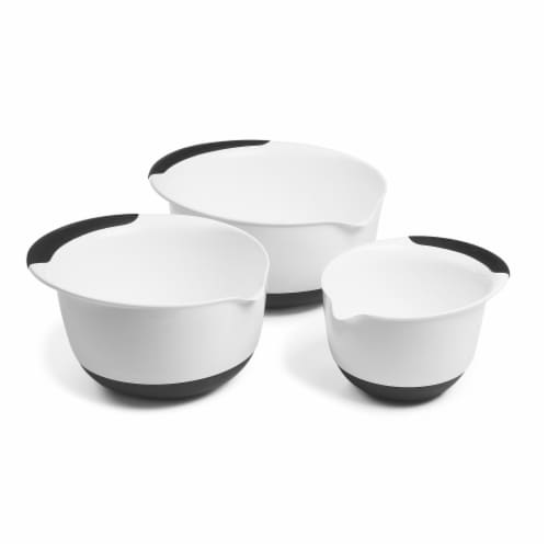 OXO Good Grips Mixing Bowl Set - White Perspective: front