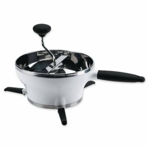 OXO Good Grips Stainless Steel Manual Food Mill for Purees and Sauces, 2.3 Quart Perspective: front