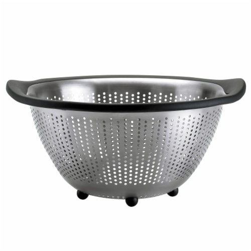 OXO Good Grips Stainless Steel Colander Perspective: front