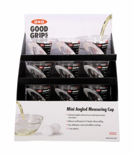 Oxo Good Grips 1/4 cup Plastic Clear Measuring Cup - Case Of: 18; Perspective: front