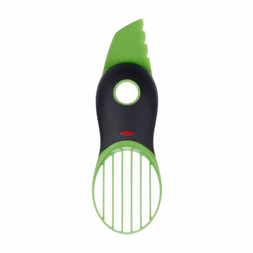 OXO 3-in-1 Avocado Slicer - Green Perspective: front