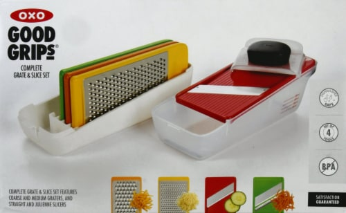 OXO Good Grips Complete Grate and Slice Set Perspective: front