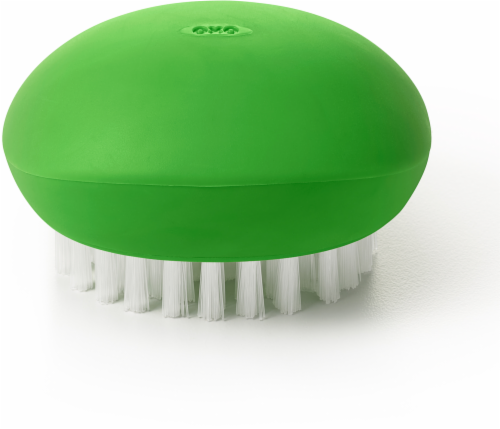 OXO Soft Works Vegetable Brush - Green Perspective: front