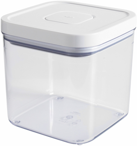 OXO Soft Works POP Food Storage Container - Clear/White Perspective: front