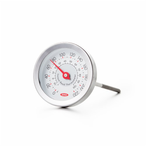 OXO Soft Works Instant Read Thermometer - Gray Perspective: front