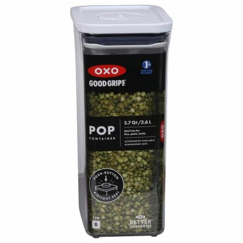 OXO Good Grips Medium Rectangular Pop Container - 2.7 qt Perspective: front