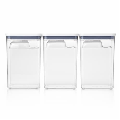 OXO Good Grips Bulk Storage Pop Container Set - Clear Perspective: front