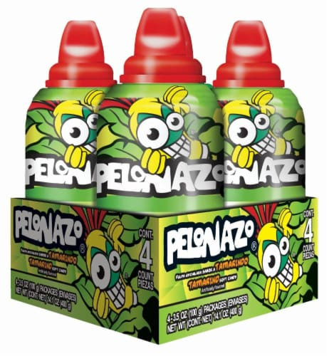 Pelonazo Push-Pop Candy 4 Count Perspective: front