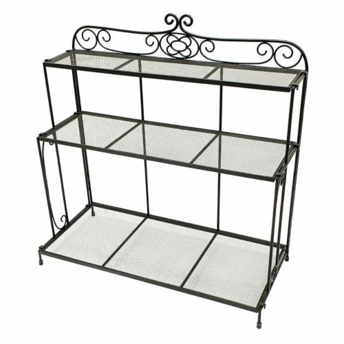 Achla BTS-01 Gardeners Boot Shelf Perspective: front
