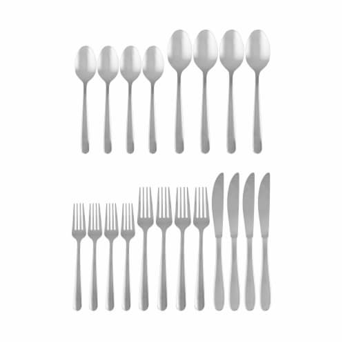 Cambridge Silversmiths Jude Flatware Set - Mirror Perspective: front