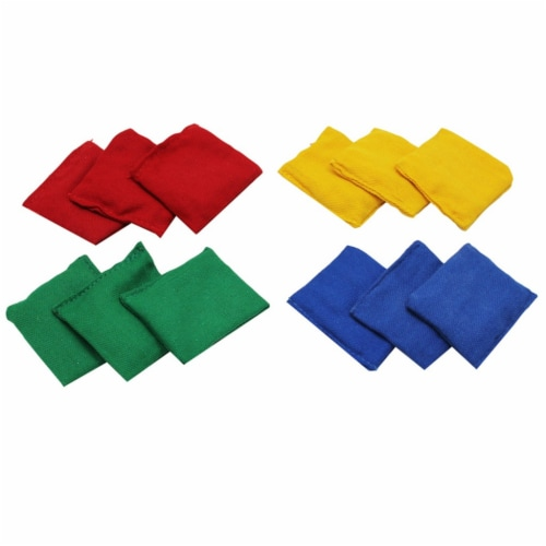 Bean Bags, 3  x 3 , Set of 12 Perspective: front