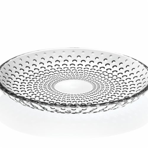 Lorren Home Trends 260470 7 in. 4 Piece Galassia Fruit & Salad Plates Perspective: front