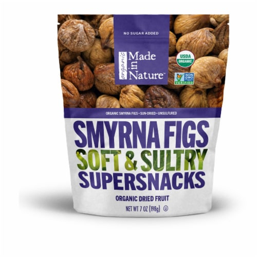 Made In Nature Sun Dried Organic Smyrna Figs Perspective: front