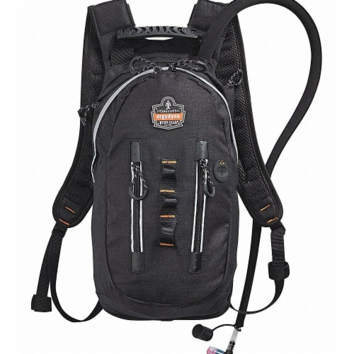 Chill-Its by Ergodyne Hydration Pack,70 oz./2L,Black Perspective: front